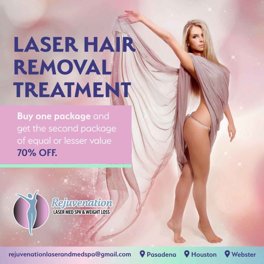 Laser Hair Removal Special Pasadena Texas
