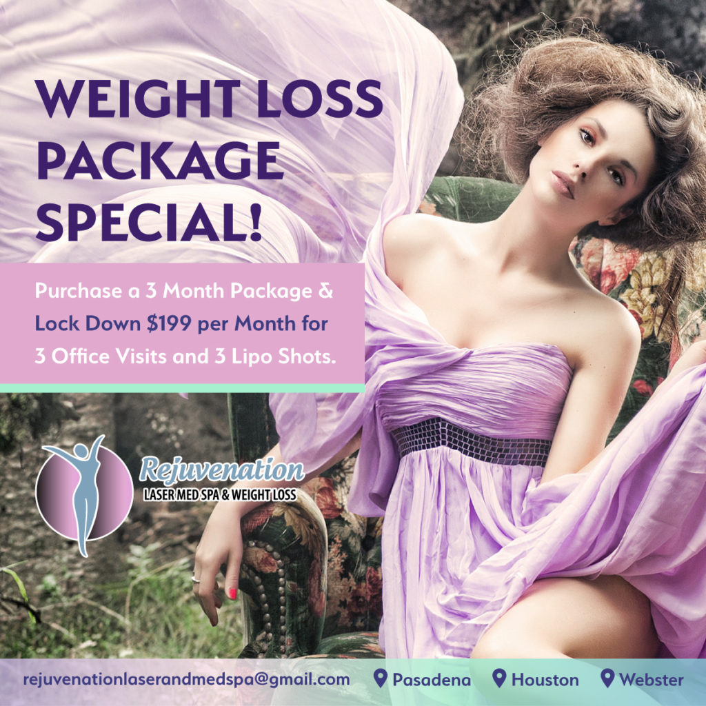 Customized Weight Loss Package Special Houston Texas